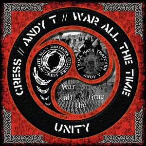 CC12-001 - Cress/Andy T/War All The Time: Unity LP